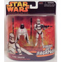 Star Wars Revengenge Of The Sith Pack Doble Clone Trooper!!!