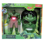 Hulk Personaje Gigante Luces Sonidos Con Mascara Para Niños
