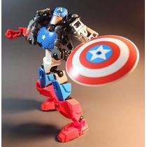 Muñecos De Capitan America, Hulk Y Iron Man, Muñecos Avenger