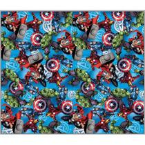 Alfombra De Goma Eva Disney Avengers