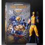 Wolverine Estatua Crazy Toys Traje Amarillo