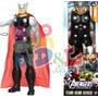 Thor Muñeco Gigante 30cm Original Hasbro Avengers Vengadores