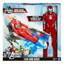 Titan Hero: Iron Man Con Bólido De Batalla -minijuegosnet