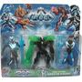 Max Steel Figuras Personajes Articulados X3 Con Luz Grandes