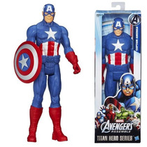 Capitan America 30 Cm 100 % Original Hasbro Increible!!!!!