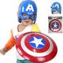 Escudo Capitan America +mascara Con Luz Led ¡¡¡¡¡envio S/c