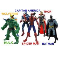 Muñecos Los Vengadores Avengers Set X 5 Local A Calle Envios