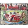 Blister Capitán América Ironman Lanzador. 17 Cm Moron Envios