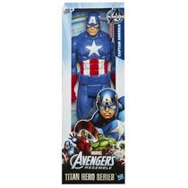 Muñeco Hasbro Capitan América Marvel Avengers 30 Cm