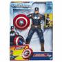 Capitan America Movimiento Sonidos Shield Storm Laza Escudo