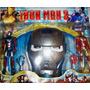 Iron Man 2 Figuras De Accion Y Mascara Envio Gratis