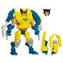 Muñeco Super Hero Mashers Wolverine Hasbro - Mundo Manias