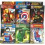 Avengers Vengadores Figuras Grandes 10cm Precio X6 Unidades!