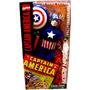 Uniforme Capitan America Clasico P/muñecos - Minijuegosnet