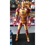 Muñeco Iron Man Articulado Con Luz Y Sonido - Grande 38 Cm