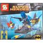 Muñeco Batman En Auto O Submarino Para Armar Tipo L