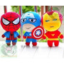 Peluches Spider Man , Capitán América, Ironman !