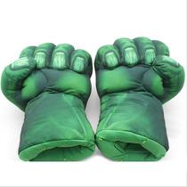 Puños Guantes Increible Hulk Importados X 2