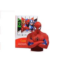 Alcancías Muñecos Spiderman Cap América Hulk Batman Iron Man