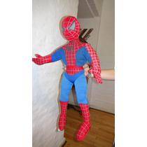 Muñeco De Spider Man De Tela Relleno
