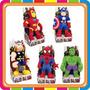 Muñecos De Peluche Hombre Araña - Vengadores - Mundo Manias