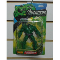 Hulk Articulado Con Luz Avengers Vengadores Zona47