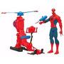 Helicoptero Spiderman Hombre Araña Hasbro La Lucila
