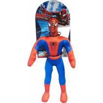 Muñeco Spiderman Soft New Toys 55cm. Marvel Envío Gratis