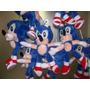Muñeco De Sonic Importado De 21cm De Altura