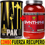 Combo Super Recupero Animal Pak Universal + Syntha 6 Bsn