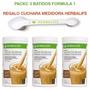 3 Batidos Herbalife + Cuchara Dosificadora