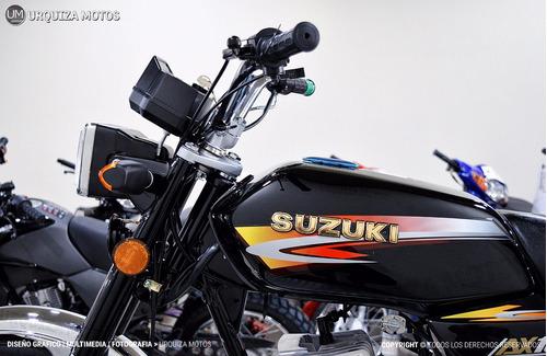 Suzuki Ax 100 Ax100 Cafe Racer 2t Hay Promo Contado 0km