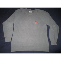 Sweater Bh Polo Club Rugby & Cricket Gris Talle L