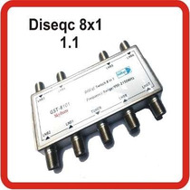 Diseqc 8x1 Switch 1.1 Banda C Ku Fta Gst-8001 Az Skyfreetv