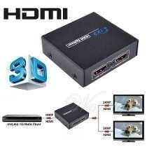 Splitter Hdmi Activo 1x2 Tv Led Lcd 3d Version 1.4 1080p Ps3