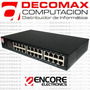 Switch Encore Enh924-cx 24-ports 10/100mbs Rackeable Fact-a