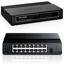 Swtich Tp-link Tl-sf1016d 16 Puertos Ethernet10/100