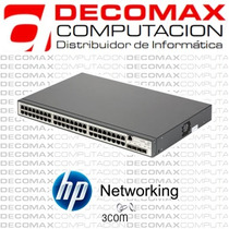 Switch Hp 48 Port 10/100/1000 V1910-48g Je009a Admin Fact-a