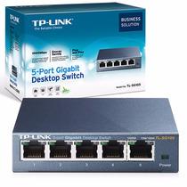 Switch 5 Ports 10/100/1000 Tp-link Tl-sg105 Acero Gigabite