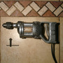Antiguo Taladro Electrico Hitachi 6,5 Mm Con Llave Mandrill