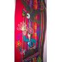 Tapiz Incaico De Aguayo Bordado De 1,25x30cm