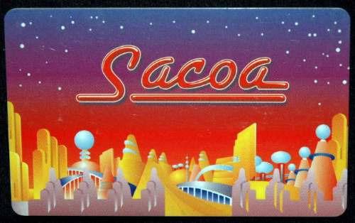 Tarjeta Sacoa