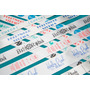 1000 Etiquetas Para Ropa 15mm, Logo Marca Para Indumentaria