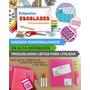 50 Etiquetas Lavables Utiles Escolares Utensillos Infantiles