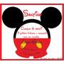 Invitaciones Infantiles Mickey Minnie Frozen Únicas!!