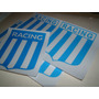 Rdg - Calcomania Sticker Escudos Racing