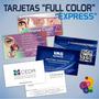 Tarjetas Personales Full Color Laminadas 100 Unidades 24hs