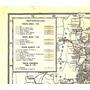 Mapa Ferrocarriles Ffcc Tren Ferroviario 1948 Sud Midland Et