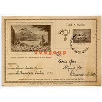 Tarjeta Postal Parque Nahuel Huapi Castelar A Parana 1944