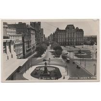 Postal Antigua Buenos Aires / Avenida Alem Correo Colectivos
